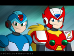 Megaman X And Zero by 11CallofGadra11