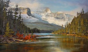 Off  Icefield Parkway by artistwilder