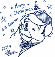 Dr. David Q Dawson : Merry Christmas by doraemonbasil
