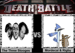 Death Battle: Mordecai and Rigby vs Stooges by TanimationProd