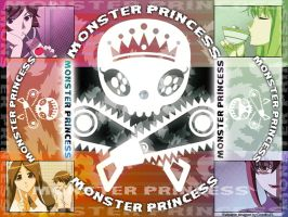 Monster Princess Wallpaper 01 by CrucifixJEL