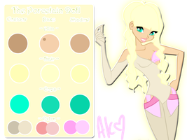 The Porcelain Doll - Robynne's Palette by Derpika