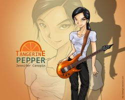 Pepper and Tangerine by LASZIO