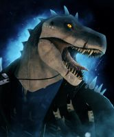 Enraged T-Rex by Dragonborn91