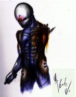 Gray Fox by kris-wilson