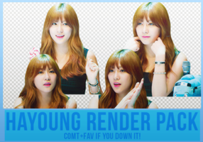 Hayoung Render Pack #2 by Know-chan