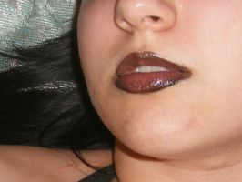 Lips stock by GothicLolitaStock