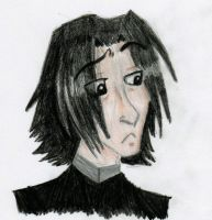 Young Severus by TangerineVampire