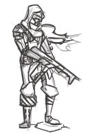 destiny characters hunter coloring pages - photo#4