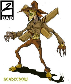 Scarecrow Redesign by JazylH