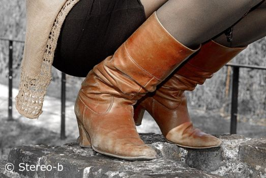 brown boots 3 by stereo-B