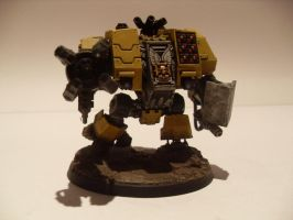 Imperial Fists Ironclad Dreadnought by iron-revolution