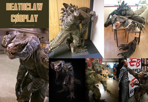 Fallout 4 Deathclaw Cosplay MkII by Endivinity
