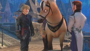 Kristoff meets Sitron by cdpetee