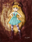Sinister Star Butterfly by TheArtLone