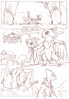 Foreign Shadows  page 12 draft by ChillySunDance