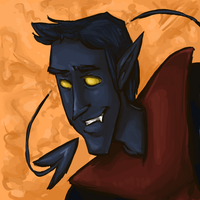 Nightcrawler Speedpaint by ph00