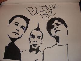 blink 182 by immortality37