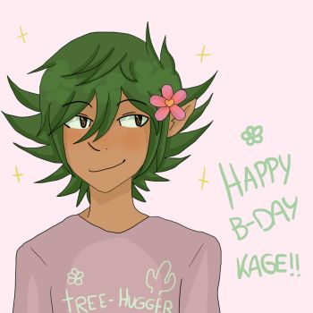Happy Birthday, Kage! by EctoKing