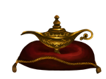 Stock: Aladdin's Magic Lamp by Greyfaerie4