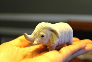 Tiny elephant in a Big world by SprinkleChick