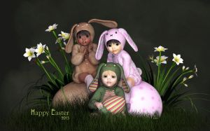 Happy Easter 2015 by Dani3D