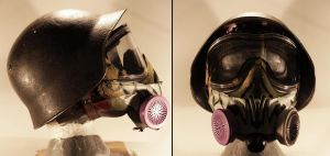 Helmet and gas mask - Generation Zero by NeonCowboy