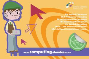 Computing Courses Postcard Alt by theGlimmerTwin