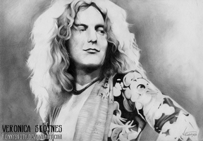 Robert Plant - The Song Remains the Same by RonnySkoth