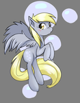 Derpy's bubble~ by DreamynArt