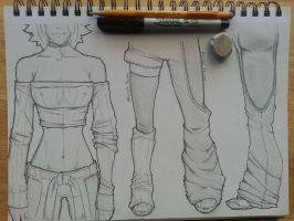 Amber Mamako Clothing Concept by NobleCrimson