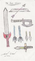 Project 3 Power Weapons by Jred20