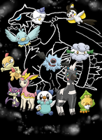 Pokemon Black by FinnishPokemonFan96