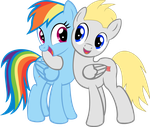 Sarge and Rainbow Dash. by Sargeant007