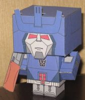 Galvatron Cubee by paperart