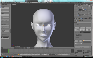 Another head mesh by X0DA