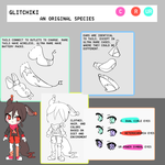 original species: glitchiki by Suukebe