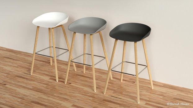 Furniture rendering database part 003a by Bernd-Haier