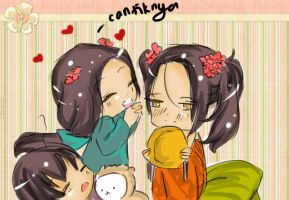 APH: Little Indonesia, Malaysia and Singapore!! by UTANYOsama
