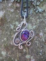 Swirly pendant by Gufihtar