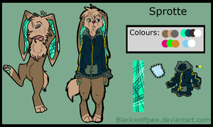 New Character: Sprotte by Blackwolfpaw