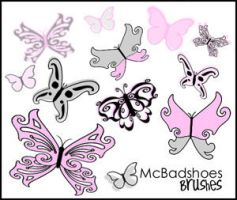 Butterflies by mcbadshoes