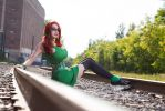 Somewhere on the Rail Track by Ariane-Saint-Amour