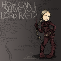 A True Mord-Sith by ValkAngie