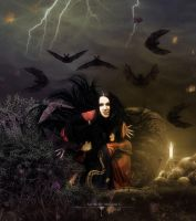 The lair of the widow by Fae-Melie-Melusine