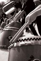 Taiko Drumset by BLTe