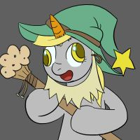 Derpy the Wizard by Silfidum