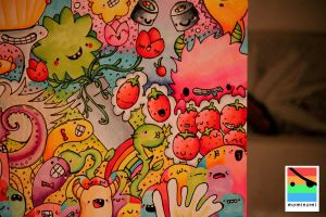 monster invasion, detail 1 by mominomi