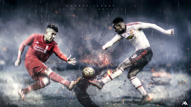 UEL: Liverpool vs Man Utd 15/16 by MaRaYu9