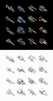 Space weapons by st-valentin